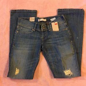 Levi's 524 Bootcut Skinny Jeans Size 1 Medium